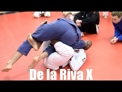 De la Riva X | Sweeps with Professor Mackens Semerzier, Norfolk, VA