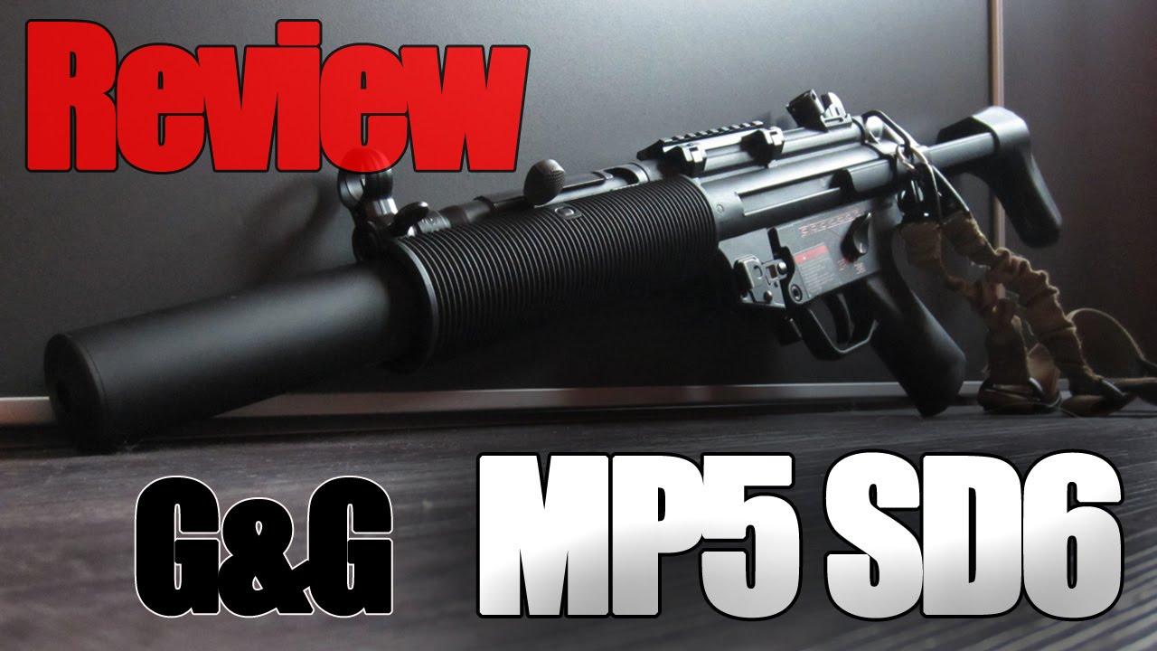 Review - MP5 SD6 (TGM Q6) G&G [Français] - YouTube