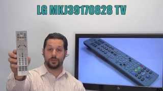 LG MKJ39170828 TV Remote Control - www.ReplacementRemotes.com
