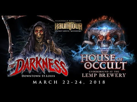 The Darkness And Lemp Brewery Haunted House Tour 2018 Youtube