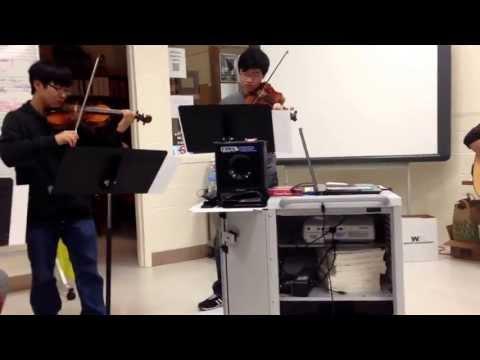 John Tran's 2013 AP Music Theory Composition