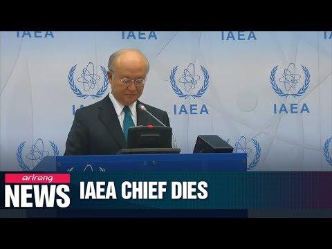 IAEA chief Yukiya