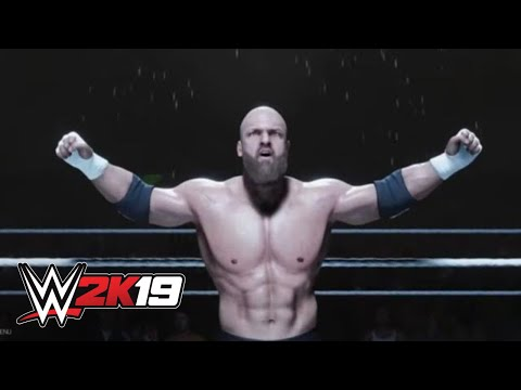 WWE 2K19 Triple H entrance video