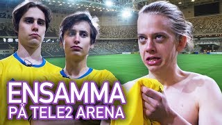 Ensamma på Tele2 Arena! | I Just Want To Be Cool VS