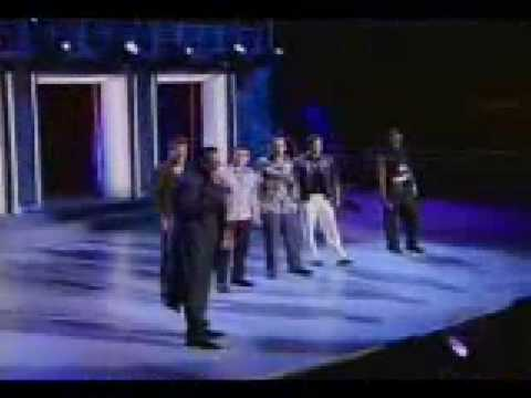 98 Degrees, Usher and Luther Vandross (Live MSG)