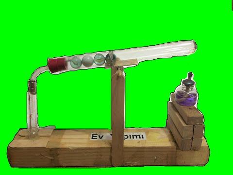 Ev Yapımı Stirling Motoru , Stirling Motor Nasıl Yapılır ?