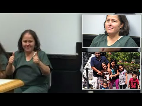 Mom Accused of Murdering Family Gives Bizarre Court Appearance, Smiles at Camera