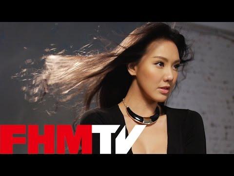 FHM 2016 四月號 Cover Girl 性感地讓你水裡來,火裡去──劉雨柔