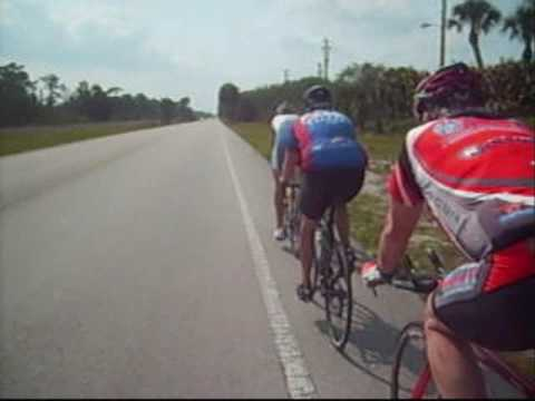 5 guys Cycling Day 3 Ponte Vedra Beach to  Key West