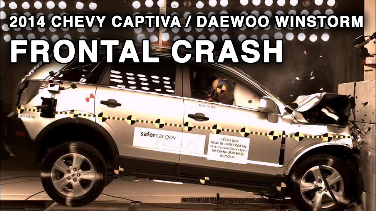 2014 Chevy Captiva Daewoo Winstorm Frontal Crash Test