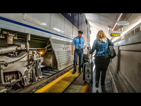 Amtrak Pacific Surfliner Business Class San Diego to Los Angeles
