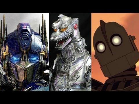 Top 10 Giant Robots Youtube