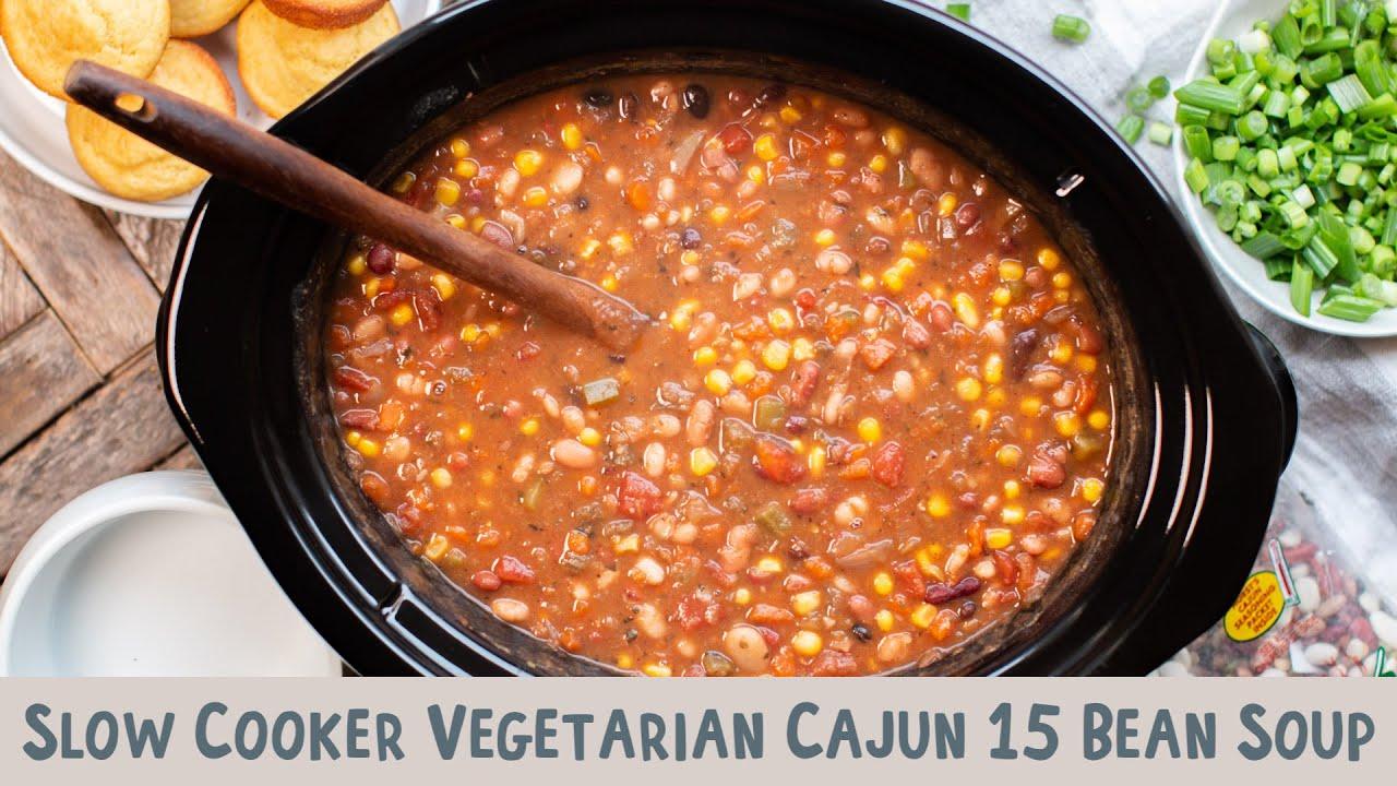 Cajun 15 Bean Soup Recipe