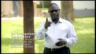 Dr  Livingstone Ssewanyana