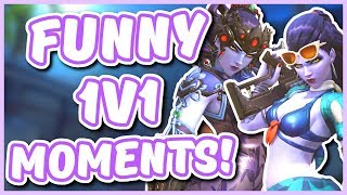 Overwatch - THE 1V1 MASTER RETURNS (Funny Moments)