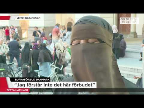 """Danmark förbjuder heltäckande niqab - """"vi väljer själva att bära niqab"""""""
