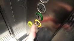2012 KONE Monospace MRL Traction Elevator @ Pohjolankatu 2 B, Rovaniemi, Finland