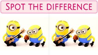 [ Brain games ] ( 3 ) Ep.023 Etc. 01.Minions_01 | Spot the difference | photo puzzles | Healing