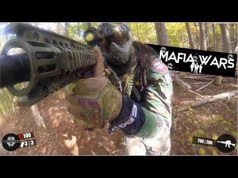 MAFIA WARS @ Southern MAryland Paintball| TMC GAMEPLAY Bajan GhostSquad Paintball