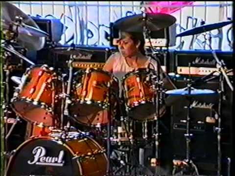 Guitar Center Drum-off 1989, Santa Ana, CA - Heather McMahon