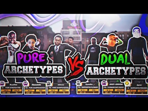 😂HILARIOUS PURE ARCHETYPES VS DUAL ARCHETYPES |WHATS A BETTER ARCHETYPE NBA 2K18|WITH BIG YOUTUBERS