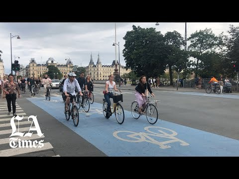 Copenhagen has taken bicycle commuting to a whole new level