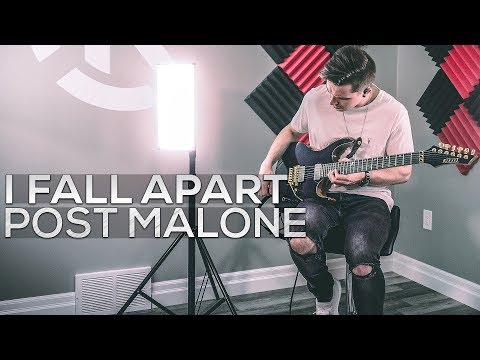 Post Malone - I Fall Apart (Young Bombs Remix) - Cole Rolland (Guitar Cover)