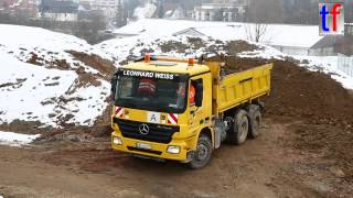 Mercedes-Benz Actros 3a Dump Truck / Kipper, Leonhard Weiss, Germany, 2015.