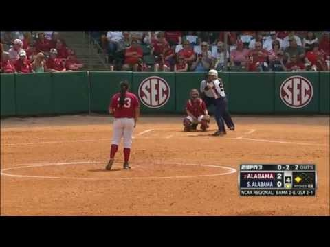 Alabama VS South Alabama NCAA Regionals 2014