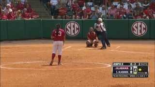 Alabama VS South Alabama NCAA Regionals 2014