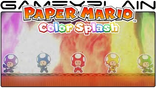 Paper Mario: Color Splash Trailer - Rescue V Squad Episode 2 (Wii U - UK)