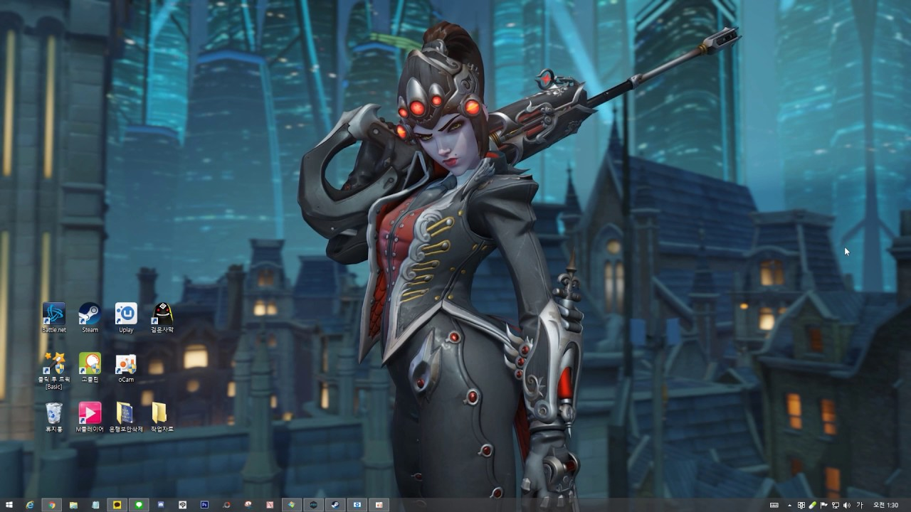 Wallpaper Engine - Overwatch Widowmaker - YouTube
