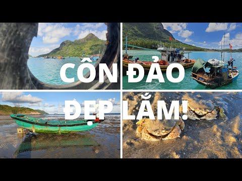 Du lịch Côn Đảo #1: Từ Sóc Trăng đi Côn Đảo bằng tàu Superdong - Biển trong xanh RẤT RẤT ĐẸP!