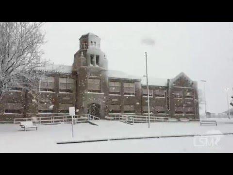 12-13-15 Hugoton, Kansas Whiteout Conditions