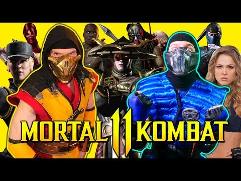 Scorpion & Sub-Zero REACT - MORTAL KOMBAT 11 Gameplay, Character, & Story Trailers | MK11 PARODY! thumbnail