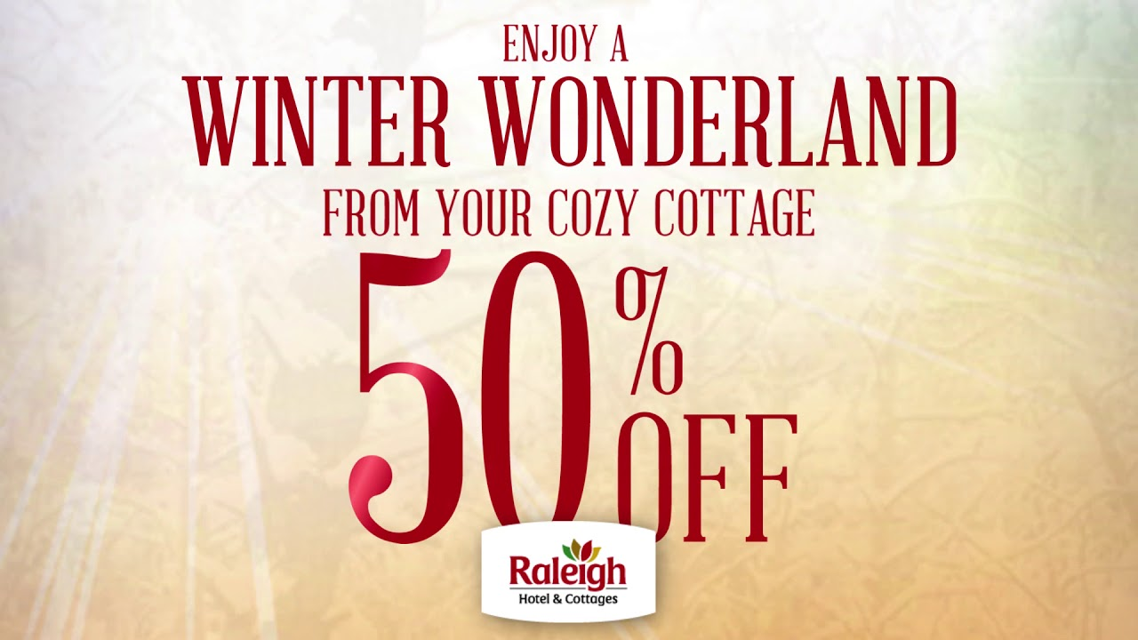 Raleigh Cottages - MIDWINTER way to GETAWAY