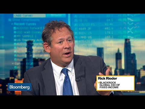 BlackRock's Rieder Says There Is Still a Big Demand for U.S. Credit