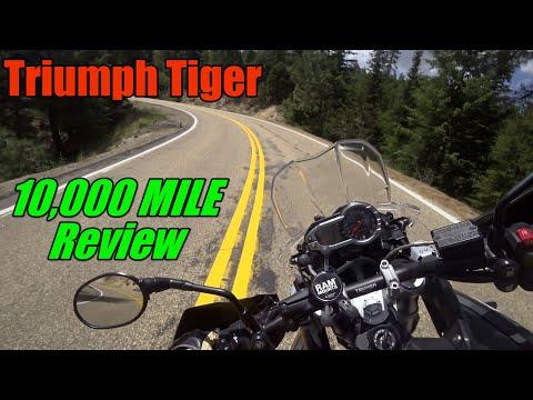 Triumph Tiger 10000 Mile Review