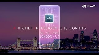 #HUAWEIMate20 launch – worldwide exclusive first look, LIVE from London
