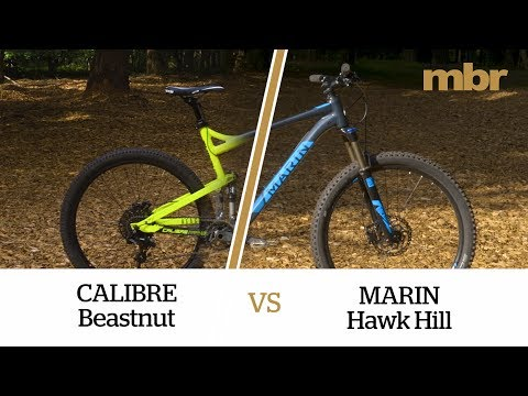 Calibre Beastnut V Marin Hawk Hill | £1,300 full-sus shoot-out | MBR