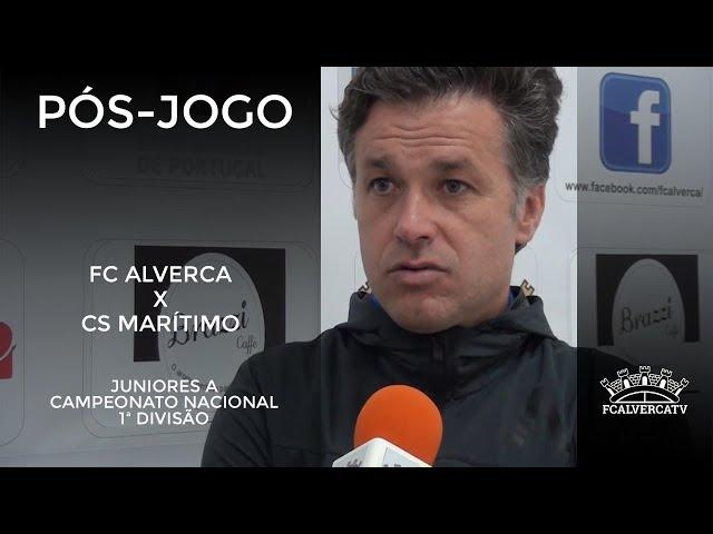 Juniores - FC Alverca 2 Marítimo 2