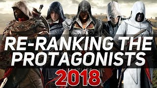 Re-Ranking the Assassin's Creed Protagonists (2018)