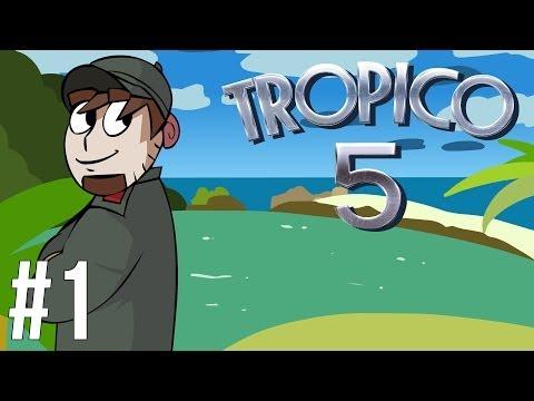 LETS PLAY TROPICO 5 | EP 1 | SANDBOX