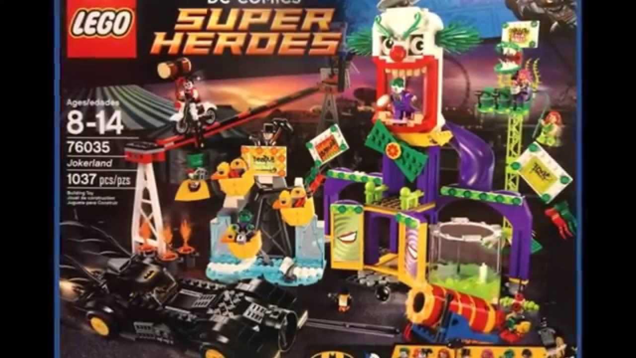 LEGO DC SUPERHEROES SUMMER 2015 SETS & MINIFIGURES REVIEW ...