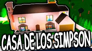 The 🏡 House of the Simpsons 😀 Bloxburg ? ROBLOX