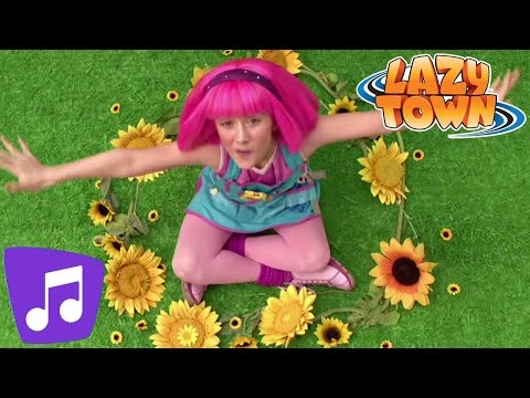 Lazy Town | Teamwork Music Video