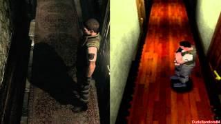Resident Evil HD Remaster Vs Resident Evil Playstation 1 Graphics Comparison