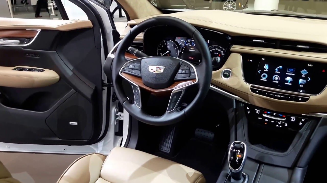 2017 Cadillac Xt5 Interior Walkaround 2016 New York Auto Show Youtube
