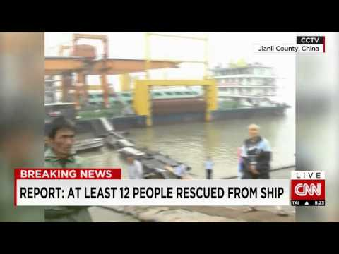 458 people missing after ship sinks in China's Yangtze River