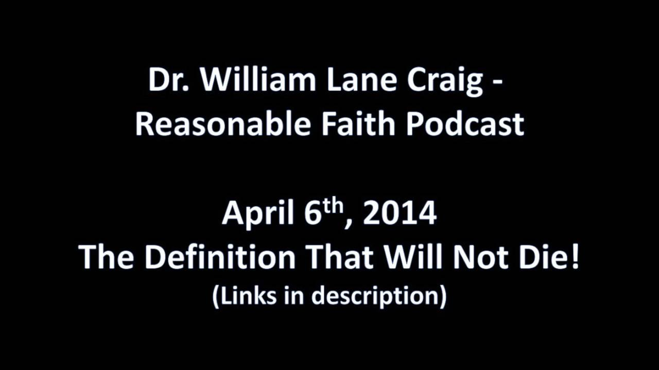 the proper definition of atheism - dr. william lane craig